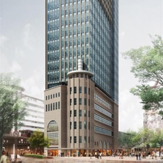 神戸阪急ビル東館の新築工事に着手します