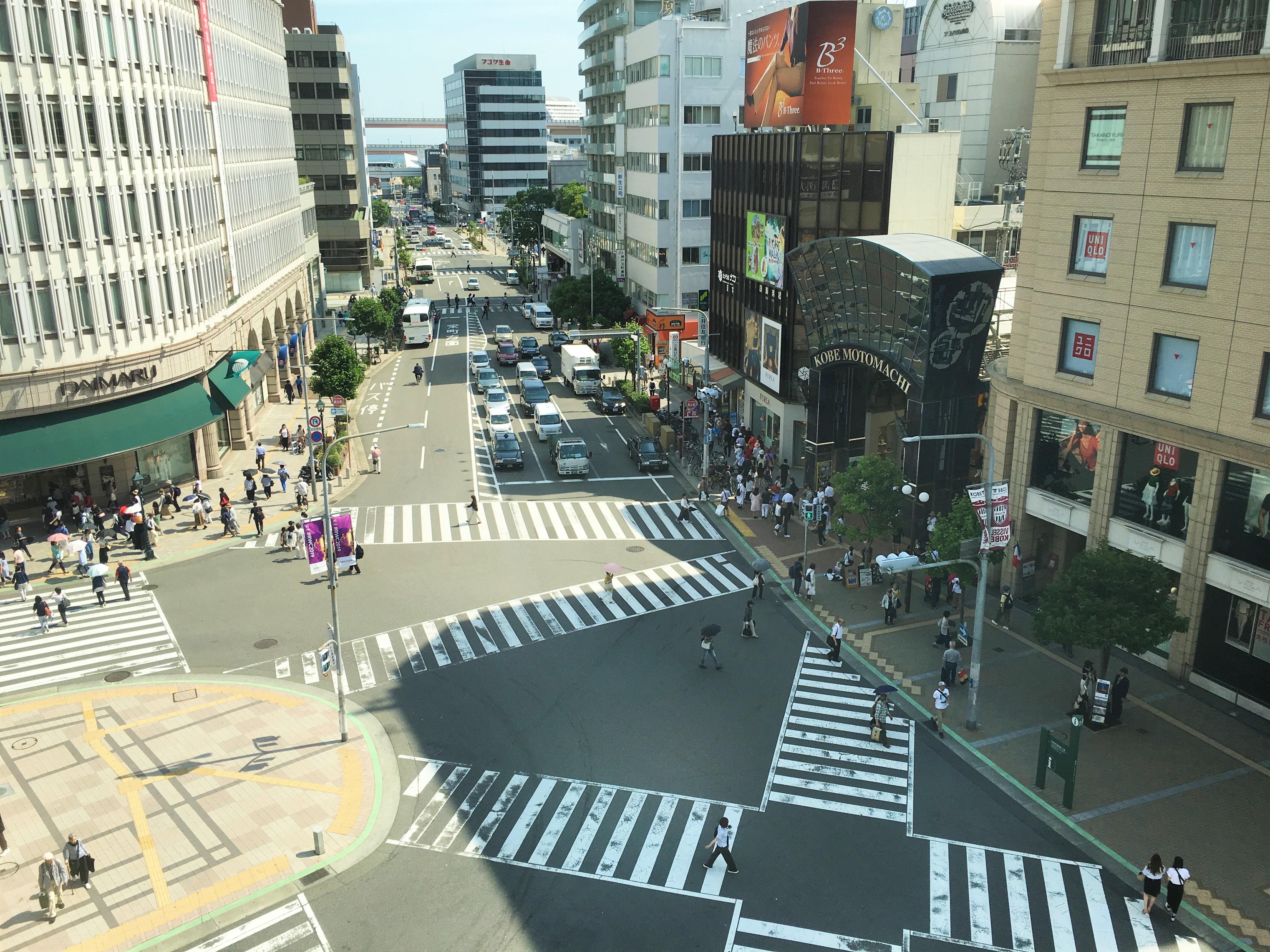鯉川筋 進捗写真