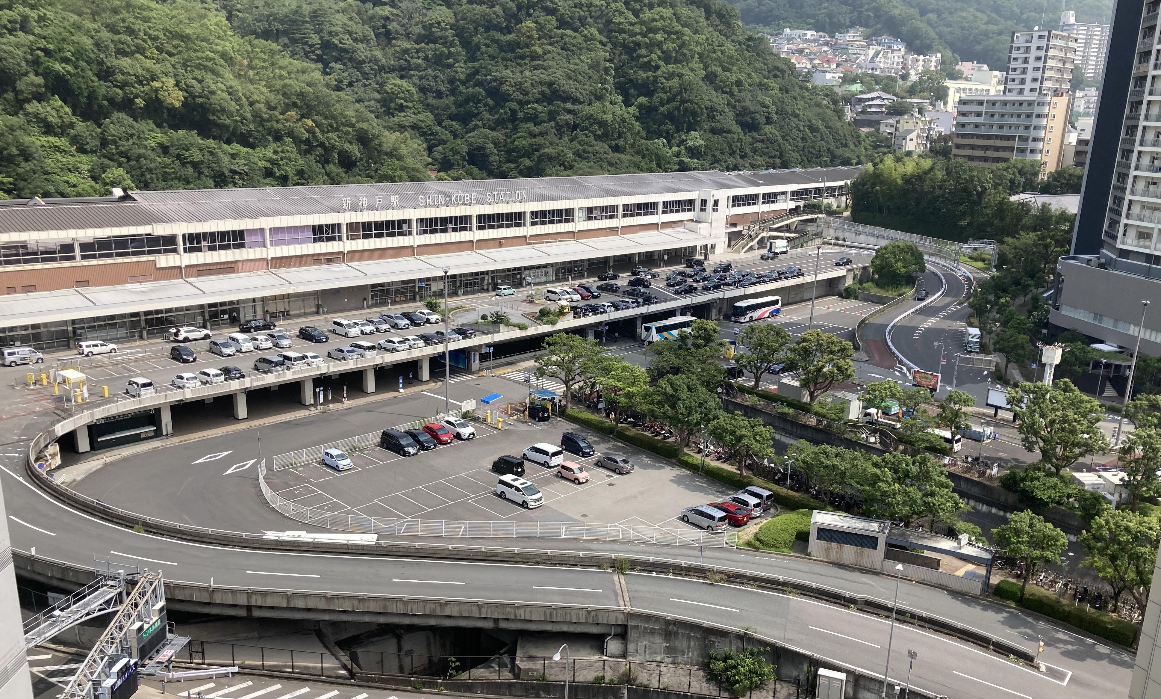 新神戸駅前広場再整備