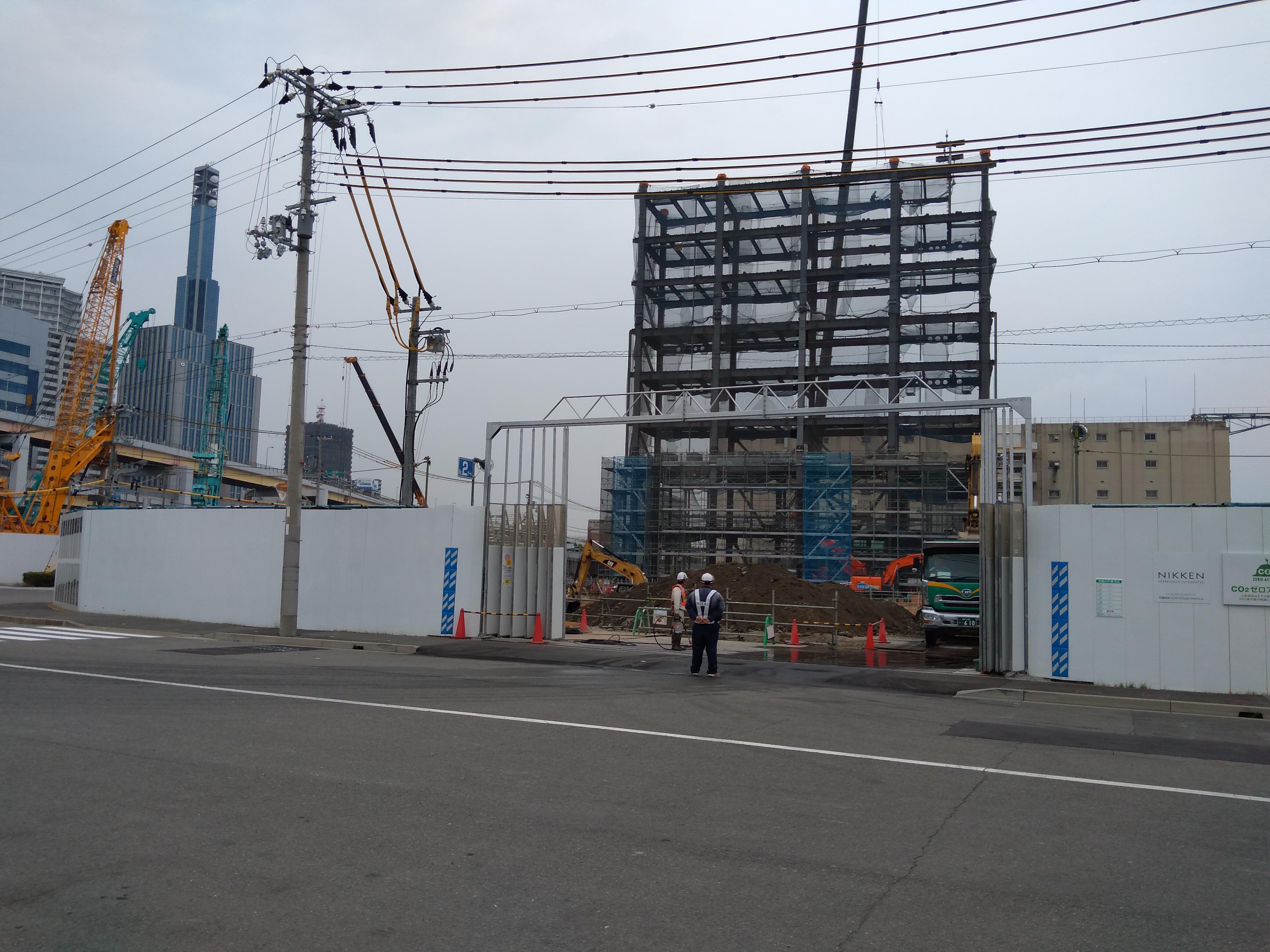 ウォーターフロント 進捗写真2020/05/26