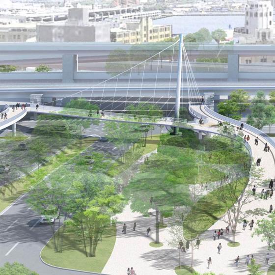 税関前歩道橋コンペ