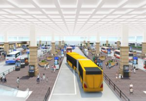 新たなバスターミナル