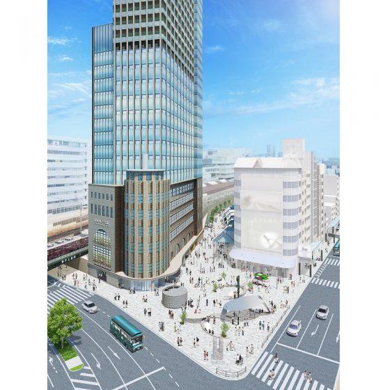 ビジュアル公開!神戸阪急駅前の再整備について