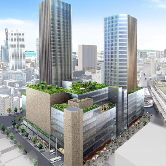 神戸三宮雲井通5丁目地区第一種市街地再開発事業にかかる民間参画事業者グループの優先交渉権者の決定について