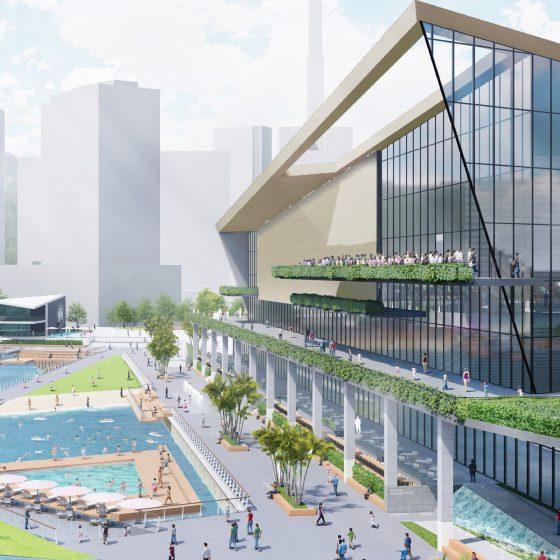 新港突堤西地区(第2突堤) 再開発事業 優先交渉権者の決定